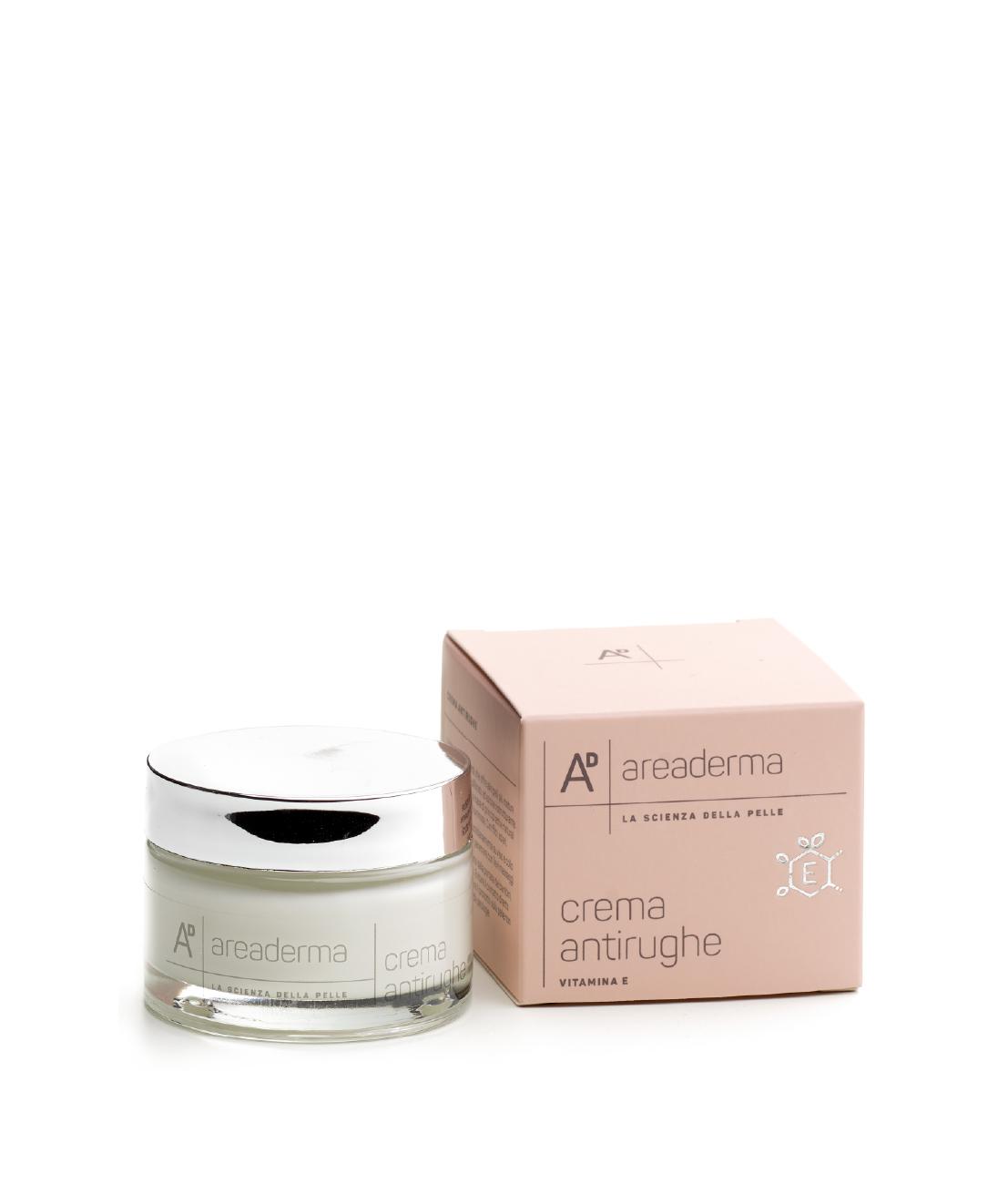 Crema viso antirughe vitamina E