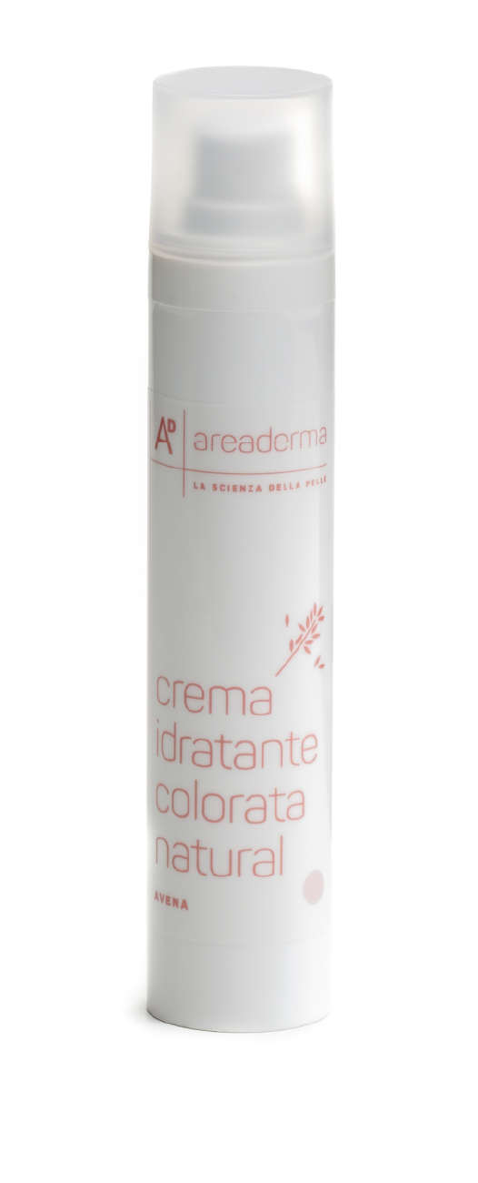 Crema idratante colorata natural