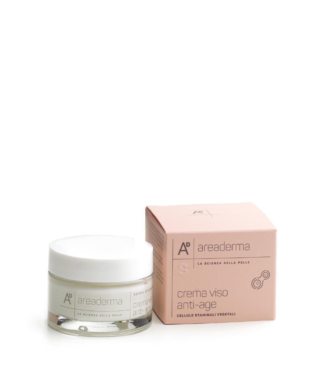 Crema viso anti-age cellule staminali vegetali